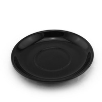Black Saucer for Espresso Cup
